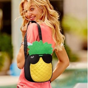 NWT PINK Pineapple Cooler/Tote Bag